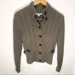Banana Republic chunky button up cardigan sweater